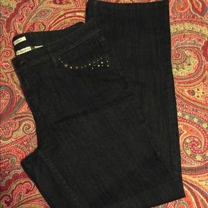 NWOT Liz Claiborne studded jeans!